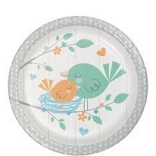 baby plates baby boy 7 inch cake dessert plates 8 ct