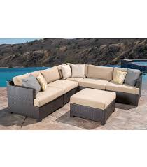 Curved Modular Outdoor Seating patio furniture
