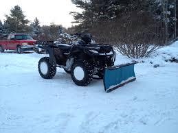 plow rigs useful mods honda atv forum