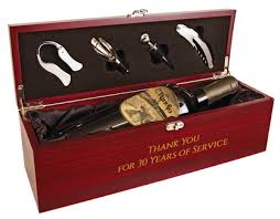 wine gift boxes wine gift box with 4 tool set rosewood