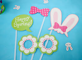 easter photo props easter bunny party ideas party delights