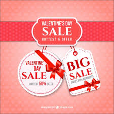 valentines sales valentines day sale vector free