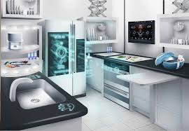 interactive demos of the smart connected kitchen of the future at