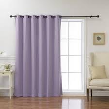 Blackout Purple Curtains Blackout Curtains You Ll Wayfair