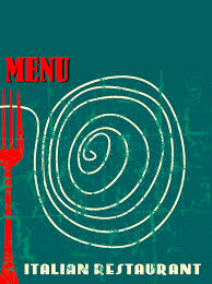 restaurant menu design stock vector image 42706459
