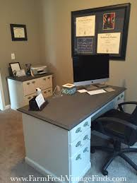 Diy File Cabinet Desk by Painting Laminate Furniture With Diy Chalk And Clay Paint Farm
