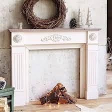 cornice camino cornice camino in legno beige bianco antico