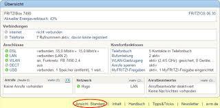 benutzeroberfläche fritz repeater erweiterte ansicht der benutzeroberfläche aktivieren fritz box