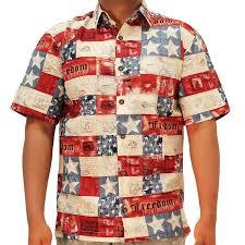 Hawaiian Flag Freedom Hawaiian Shirt At Amazon Men U0027s Clothing Store