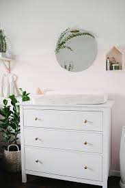 Ikea Hemnes Changing Table Change Knobs On Ikea Dresser For Changing Table Blush