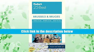 audiobook fodor brussels bruges 25 best full color travel guide