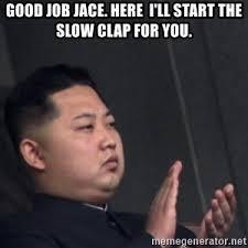 Slow Clap Meme - slow clap kim jong meme generator