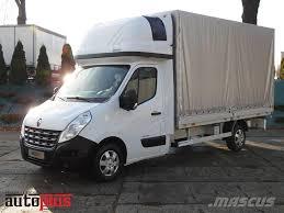 renault master minibus renault master skrzynia plandeka 8 europalet kaina 9 945