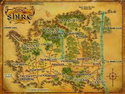 Map Of Mordor The Sights Of The Shire Objects Lord Of The Rings Online Zam