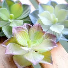 artificial succulents lifelike mini artificial plants fake flower