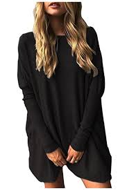 oversized blouse aifer casual bat sleeve oversized blouse pullover tops
