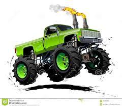 shutterstock stock bigfoot monster truck cartoon monster truck stock vector image 43483049
