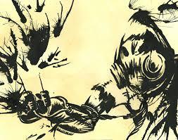 scarecrow arkham asylum batman luckypotato5 deviantart
