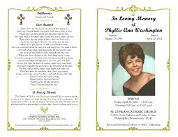 funeral programs templates free best photos of black funeral obituary cover exles sle