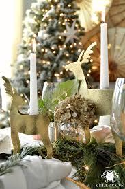creating a copper christmas table kelley nan