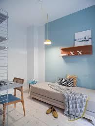 deco scandinave chambre chambre à coucher decoration scandinave chambre a coucher bleu