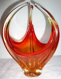 Antique Art Glass Vases 186 Best Art Deco Glass Images On Pinterest Murano Glass