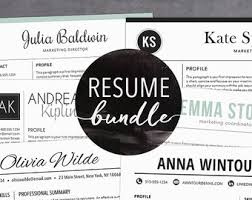 Free Creative Resume Templates For Mac Resume Templates U0026 Professional Marketing By Theshinedesignstudio