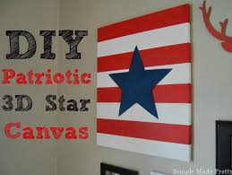 Red White And Blue Home Decor Diy Patriotic Gallery Wall Art Home Decor With Free Printables