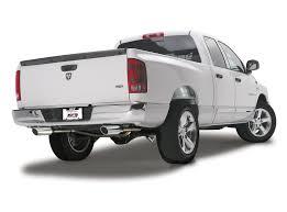 Dodge Ram Cummins Exhaust - borla split dual rear exit catback exhaust 2009 2013 dodge ram w
