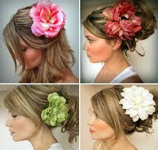 wedding flower hair wedding flower hair