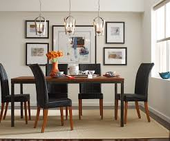 Dining Room Pendant Light by Home Design Niche Modern Aurora Pendant Lights Above A Dining