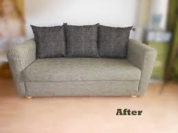 rehousser un canapé refaire un canapé en tissu