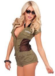 one piece u s military jumpsuit zipper front halloween
