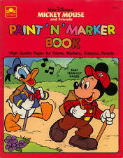 mickey mouse coloring books ebay