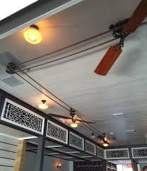 tips antique fan system ideas with belt driven ceiling fan
