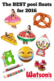 the most fun and unique pool floats and inflatable beverage