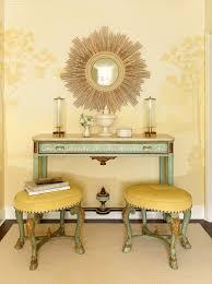 yellow ottomans design ideas