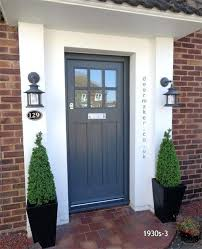 Painting Exterior Doors Ideas Best Front Door Color Michigan Home Design Best Front