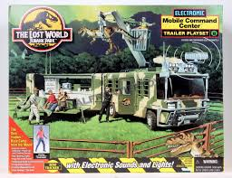 the lost world jurassic park final frontier toys electronic mobile command center trailer