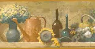 Wine And Country Baskets Tk78269 Country Basket Sunflowers And Wine Bottles Wallpaper