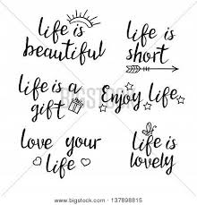 Quote About Lettering Quotes Calligraphy Vector Photo Bigstock