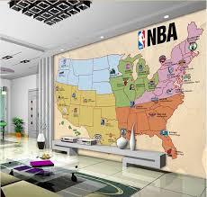 map usa nba usa basketball team on the occasion of the map wall mural custom