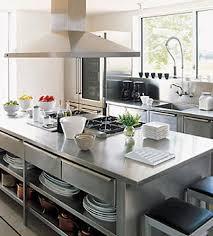 stainless steel kitchen island with seating stainless steel kitchen island table stainless steel restaurant work