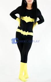 batgirl costume batman costume batgirl spandex catsuit cosercosplay