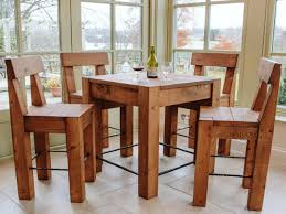 build a rustic dining room table make good rustic bar table foster catena beds