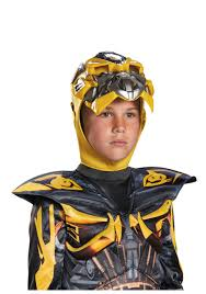 Bumble Bee Makeup For Halloween by Transformers 4 Boys Bumblebee Prestige Costume