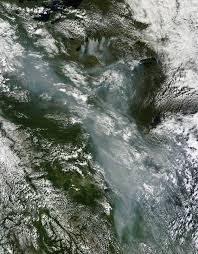 Fire Evacuations Saskatchewan by Smoke From Canada Moves South Image Of The Day