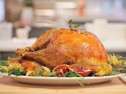 on thanksgiving day a turkey cooking from start to finish on