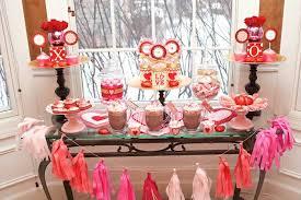 Valentine S Day Themed Party Decor by Kara U0027s Party Ideas Love Doesn U0027t Melt Valentine U0027s Day Party