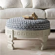 White Ottoman Coffee Table - best 25 blue ottoman ideas on pinterest jute blankets rustic